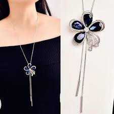 long crystal pendant necklace images Crystal pendant necklace 242 new york jpg