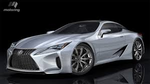 lexus lc 500 h concept lexut to debut lc500 and lc 500h coupe at 2016 detroit auto show
