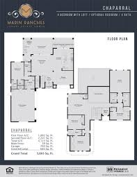 Vizcaya Floor Plan Marin Ranches At Cooper City New Homes For Sell Vreg