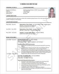 exle resume pdf excel resume template resume sle