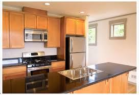 kitchen elegant black and white galley kitchen renovation design
