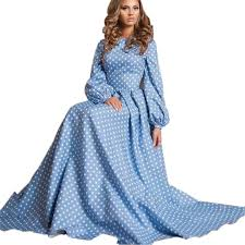 long sleeve plus size maxi dress