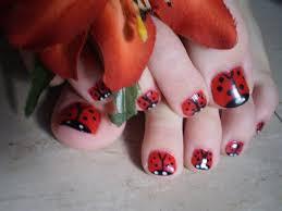 ladybug toes by kaitlynann nail art gallery nailartgallery