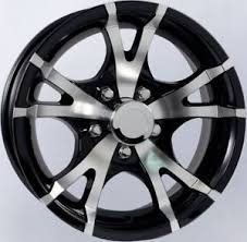 Awesome 13x5 00 6 Tire And Rim 14 Aluminum Trailer Wheels Ebay