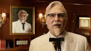 kfc swaps colonel again comedian norm macdonald takes darrell