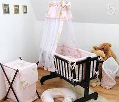 Swinging Crib Bedding 7 Baby Crib Bedding Set Fits Nursery Rocking Swinging Cradle