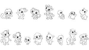 download baby animals colouring pages ziho coloring