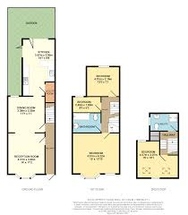 Gatwick Airport Floor Plan by 4 Bed Terraced House For Sale In Eswyn Road Tooting Sw17