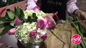 Asian Lilies Hydrangea Rose U0026 Asiatic Lily Arrangements Youtube