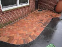 Basket Weave Brick Patio by Patio Paver Patterns Laura Williams
