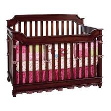 Infant Convertible Cribs Bonavita Newcastle Convertible Crib Rustic Cherry Ny Baby Store