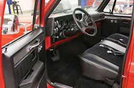 Truck Accessories Interior Revamping A 1985 C10 Silverado Interior With Lmc Truck Rod