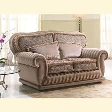 canapé style anglais fleuri canapé stylisé baroque moderne tissu au choix donatello