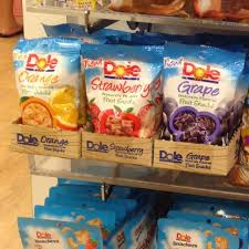 dole fruit snacks dole fruit snack per everything else on carousell