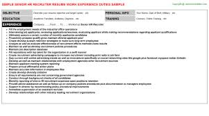Recruiter Resume Example by Aerotek Recruiter Resumes Samples