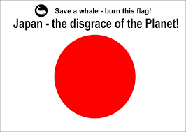 Japan Flag Image Save A Whale Burn A Japanese Flag Today Get Your Free Flag Here