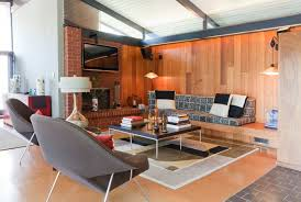 Orange Living Room Chairs by Mid Century Modern Living Room Furniture Home Interior Design