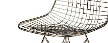 Wire Desk Chair Contemporary Office Chair Fabric Leather Metal Wire