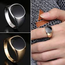 signet ring men mens signet ring ebay