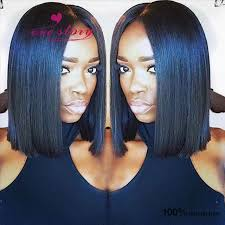 hair extensions for bob haircuts blunt bob haircut brazilian virgin hair wigs for black women