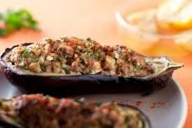 cuisiner aubergine four recette de aubergine farcie façon kefta d agneau facile et rapide