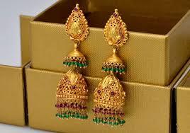 kerala style jhumka earrings beaded jhumka style earrings kerala news kerala