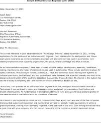 stunning instrumentation and control engineer cover letter