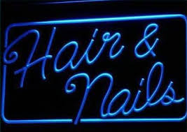 night light nail salon hair nails beauty salon neon light sign lighting for midsummer