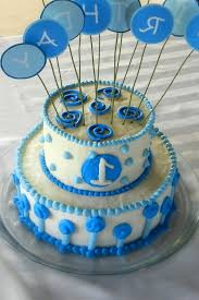 1st happy birthday cake for baby boy decorating of party