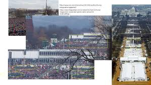 picture of inauguration crowd comparison of inauguration pics using gigapixel album on imgur