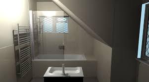 on suite bathrooms a luxury en suite bathroom in a loft conversion designed by room h2o