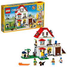 light brick sets uk 31069 modular family villa construction toy amazon