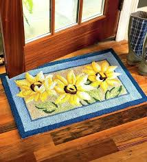 Yum Kitchen Rug Yellow Kitchen Rugs Blue And Sunflower Print 800x880 8 Logischo