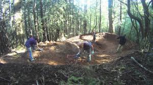 building a mountain bike flow trail youtube