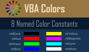 vba colorindex color infographic wellsr com
