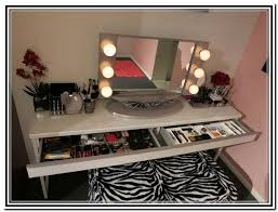 Tabletop Vanity Mirrors With Lights Broadway Lighted Tabletop Vanity Mirror Home Design Ideas