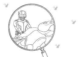 marvel ant man coloring pages ant man coloring page by kaskad93 on deviantart
