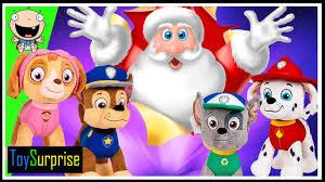 Seeking Santa Claus Episode Paw Patrol Toysurprise Episode Santa Claus