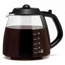 Coffee Pot 12 cup glass millennium style replacement carafe coffee carafes