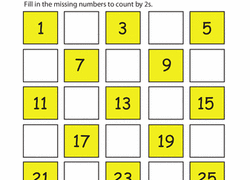 kindergarten skip counting worksheets u0026 free printables