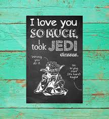 yoda valentines card wars printable valentines day cards page two s