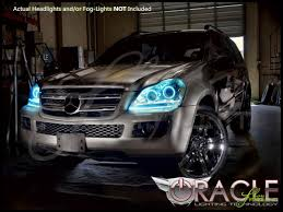 mercedes aftermarket headlights oracle 07 12 mercedes gl led halo rings headlights bulbs