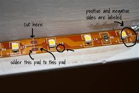 Led Tape Lighting Under Cabinet by How To Install Inexpensive Energy Efficient Under Cabinet Lighting