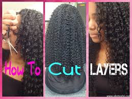 how to cut your own curly hair in layers how to cut your own hair youtube