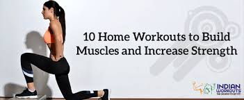 top 10 no equipment workouts at home to build muscles