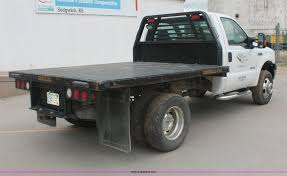 2006 Ford F350 Utility Truck - 2006 ford f350 xlt super duty flatbed truck item i7828 s