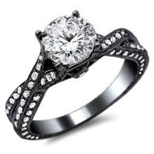 black black gold engagement rings best 25 black wedding rings ideas on black engagement