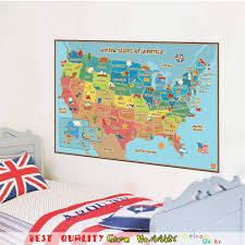 States Of Mexico Map by Aliexpress Com Buy Fashion World Map Of American Usa Sign Home