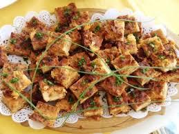 cuisiner coeur de porc carrés aux cœurs de palmier tomates séchées et poivrons dans