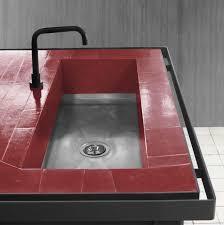 decoration vintage decorating use industrial sink and faucet concrete kitchen sink
